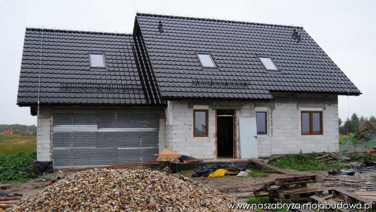 Front Domu  #garaż #projekt #dom