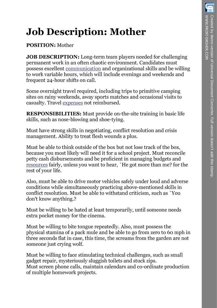 25 best ideas about Job Specification – Team Leader Job Description