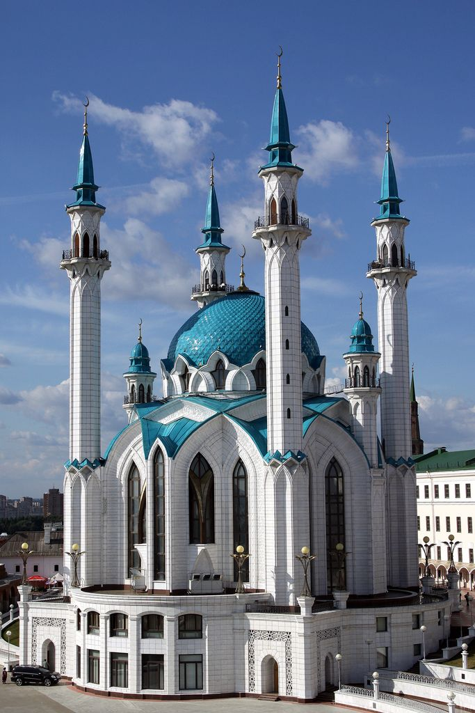 Qolsharif Mosque (Kazan, Russia).