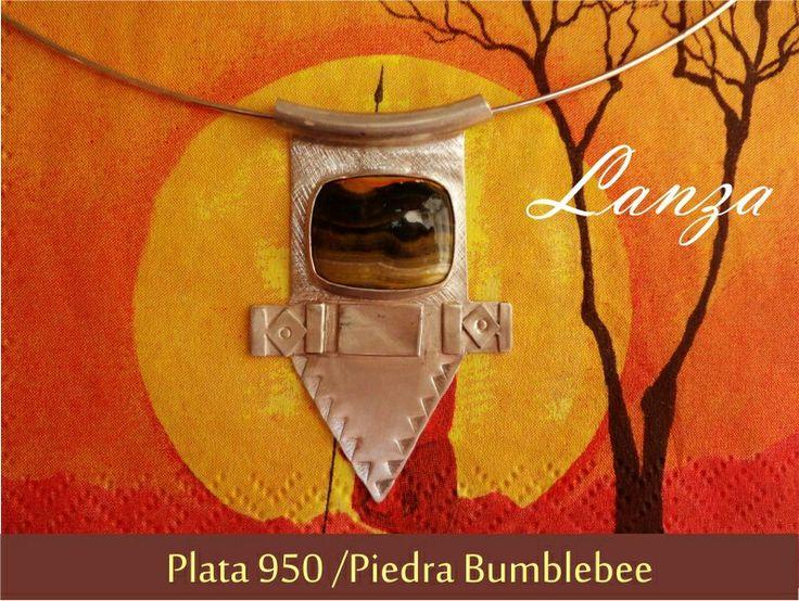 Collar Lanza ☆ inspirado en Tribus de Africa ☆ www.alem.cl