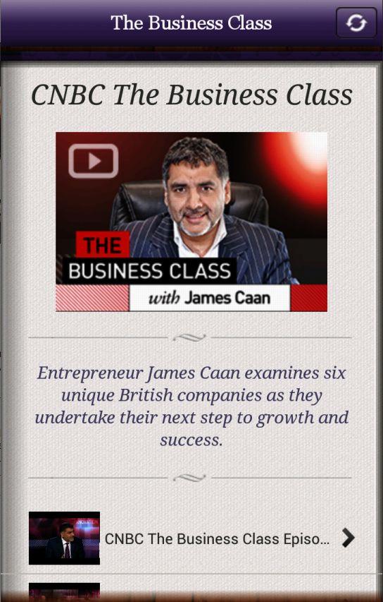 James Caan Business Secrets - screenshot