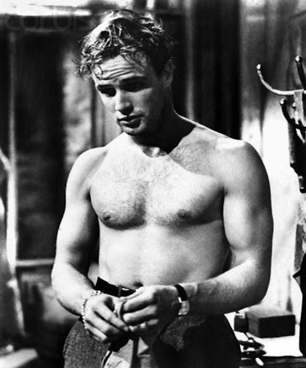 Marlon Brando was the sexiest man ever... you know, before The Godfather.