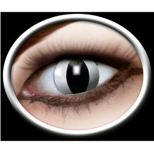 Kontaktlinser katteøjne. Seje kontaktlinser med motiv som katteøjne. Mange bruger dem til Halloween eller til andre uhyggelige fester. #halloween #kontaktlinser #cat