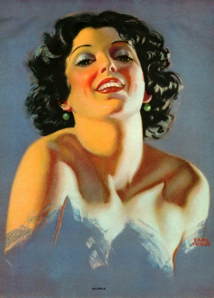 Calendar Art Models : Best images about the art of earl moran on pinterest