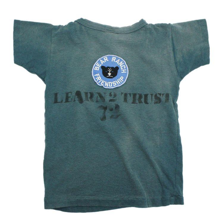 DENIM DUNGAREE(デニム&ダンガリー):ビンテージテンジク BEARS Tシャツ 24ONVオールドネイビー の通販【ブランド子供服のミリバール】