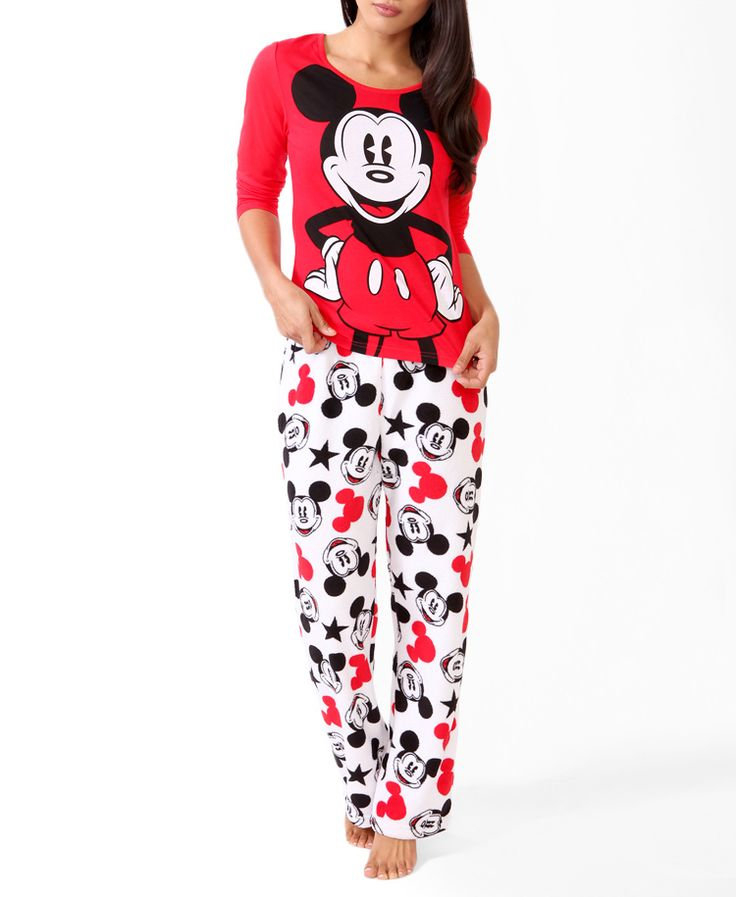 Mickey Mouse® PJ Set   FOREVER21 - 2027954211