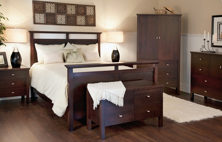 Bedroom suite by Woodworks at http://woodworks.ca/