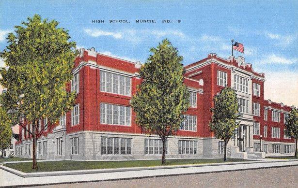 High School, Muncie, Indiana. Courtesy of Heather Anne Johnson.