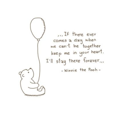 pooh knows how to love
