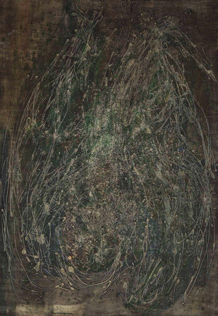 Francois Fiedler Untitled 1951 116x81cm- Kalman Maklary Fine Arts
