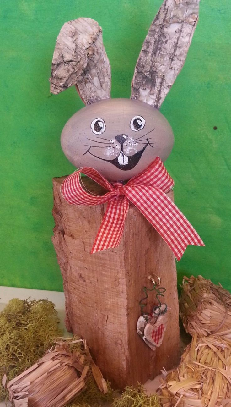 Niedliche vintage raumideen  best holz images on pinterest  wood wooden figurines and easter