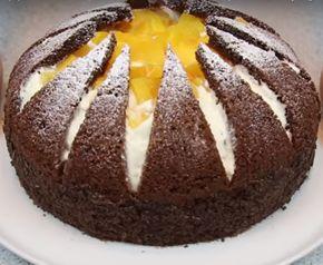 Хочу познакомить вас с изумительным тортиком. В нем совсем немного теста, но зато очень много вкусного и нежного крема. Такой торт получается просто волшебным и выглядит потрясающе. Да и готовится он намного легче, чем может показаться на первый взгляд.