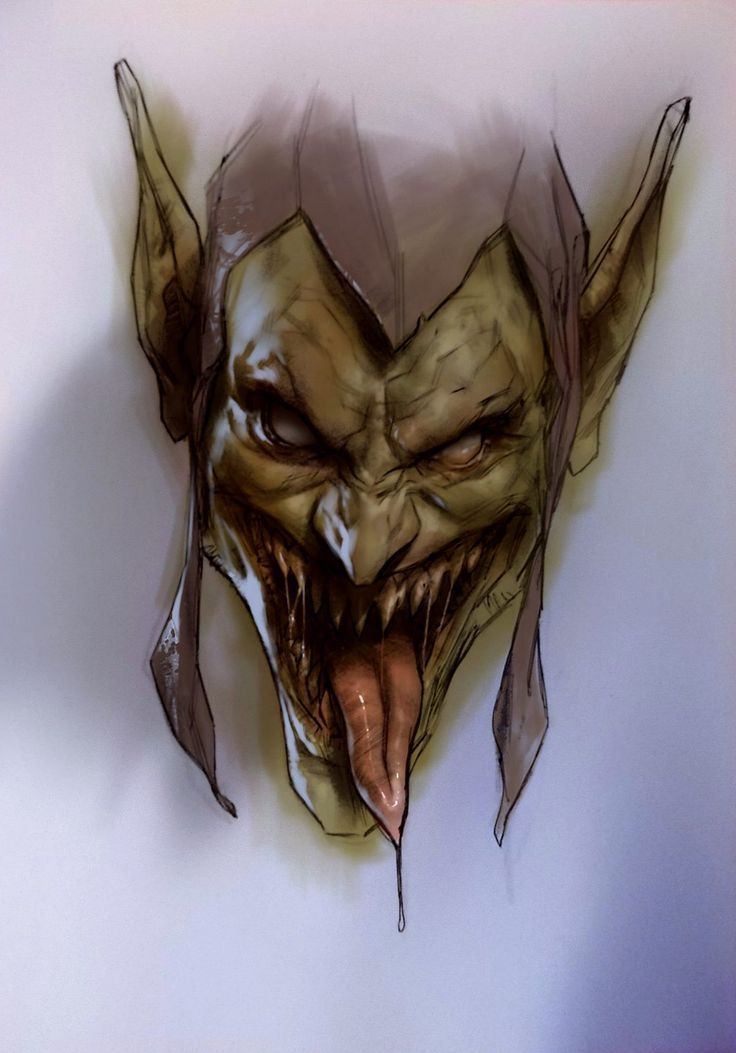 bear1na:   Green Goblin by Ben Oliver * • And Now For Something Completely Different
