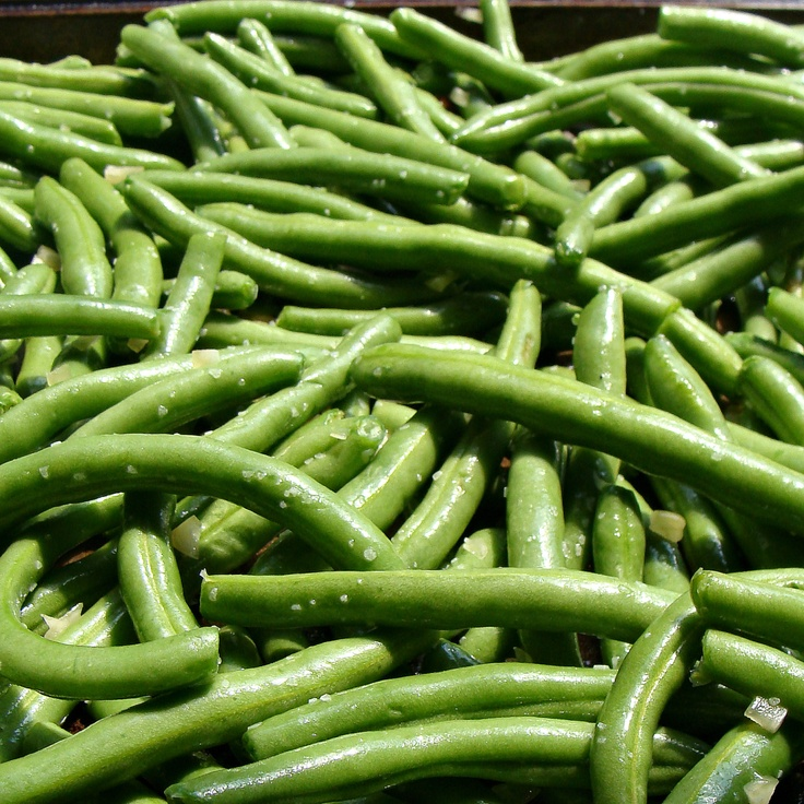 Roasted Green Beans | Healthy Eating | Pinterest