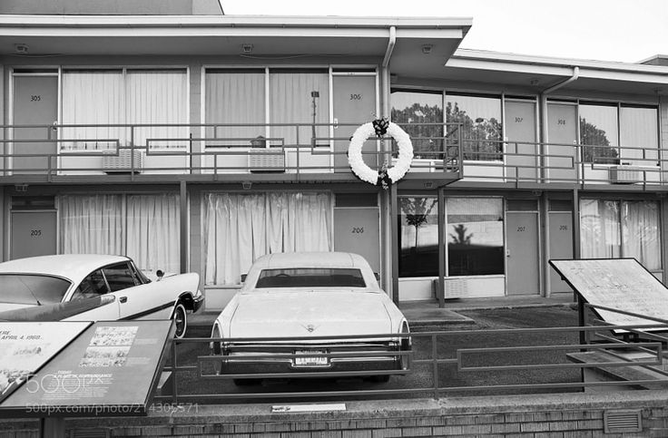 Lorraine Motel Memphis Tennessee - Martin Luther King memorial and museum.