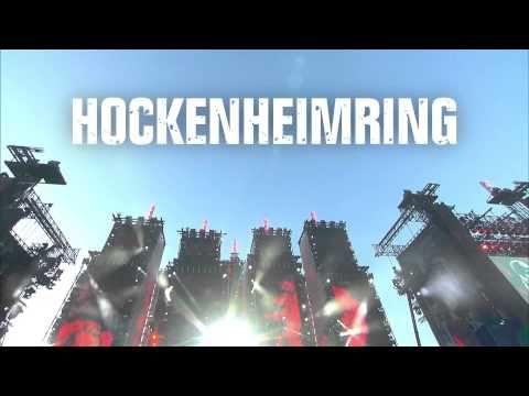 Fotos:Hockenheim: Der Aufbau der Riesen-Bühne für die vier Konzerte der Böhsen Onkelz auf dem Hockenheimring   Region