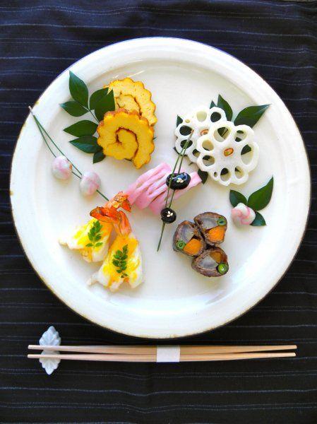 簡単&オシャレなおせち料理!ワンプレートで完成する色とりどりの盛りつけ術♪ | ギャザリー