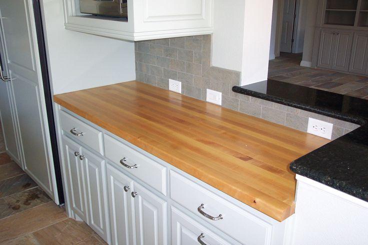maple countertop. maple edge grain kitchen counter top | maple