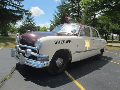 cool 1951 Ford Cop Car - For Sale View more at http://shipperscentral.com/wp/product/1951-ford-cop-car-for-sale/