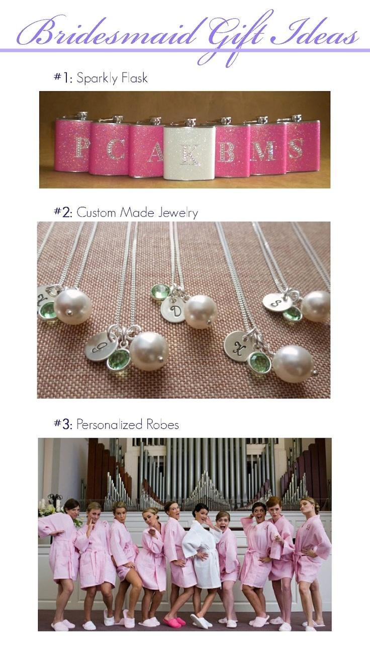 Bridesmaids Gift Ideas!