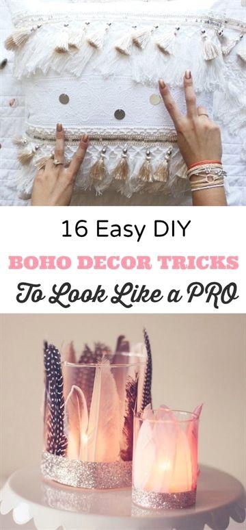 a5f4430e3f0 16 DIY Easy Boho Crafts for Your Boho Chic Room