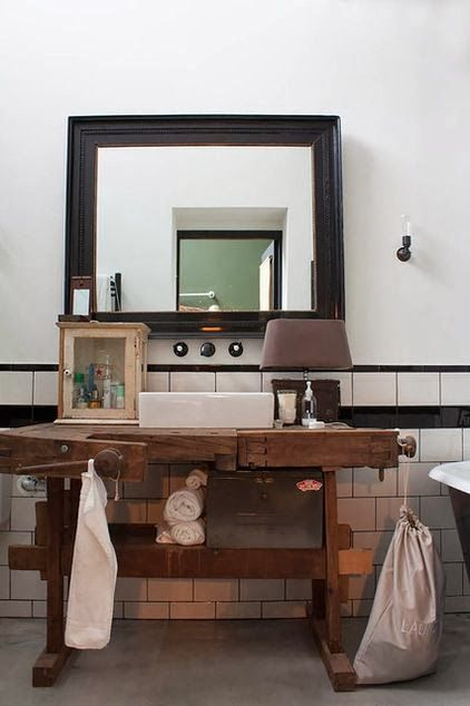 Inspired Whims: The Ultimate Bachelor Pad. Industrial BathroomIndustrial ... Part 58