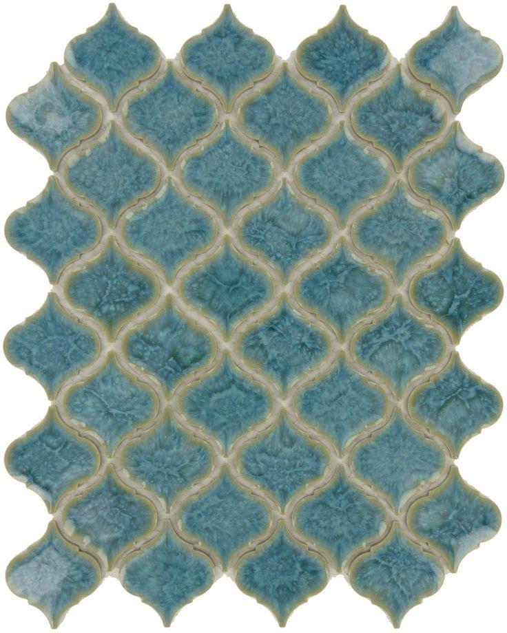 Regency  Arabesque Series, Arabesque, , Glossy, Blue, Porcelain