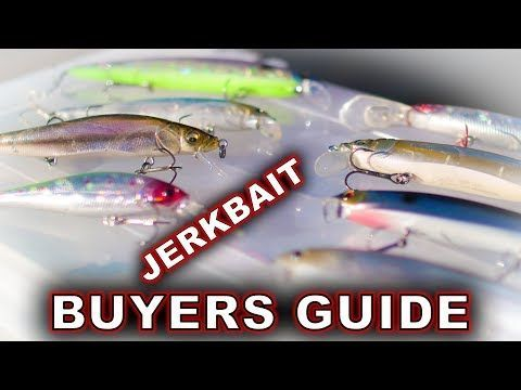 Jerkbait buyers guide for lures for fishing   Fishing Lures   Bass