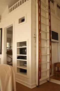 17 best ideas about retractable ladder on pinterest tiny house on wheels stairs tiny house - The home in the loft space without borders ...