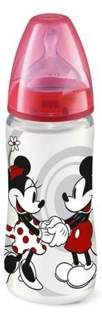 First Choice Disney Mickey Mouse с силиконовой соской 6 мес.+ 300 мл.  — 574р.  Бутылочка Nuk First Choice ДИСНЕЙ МИККИ с соской размера 2, М предназначена для детей от 6 до 18 месяцев. Силиконовая соска имеет специальную систему Nuk Air System, которая выравнивает давление внутри бутылочки, таким образом снижается вероятность возникновения колик, вызываемых вредным заглатыванием воздуха. Полипропилен, из которого произведена бутылочка, имеет высокую термостойкость, не бьется, не вступает в…