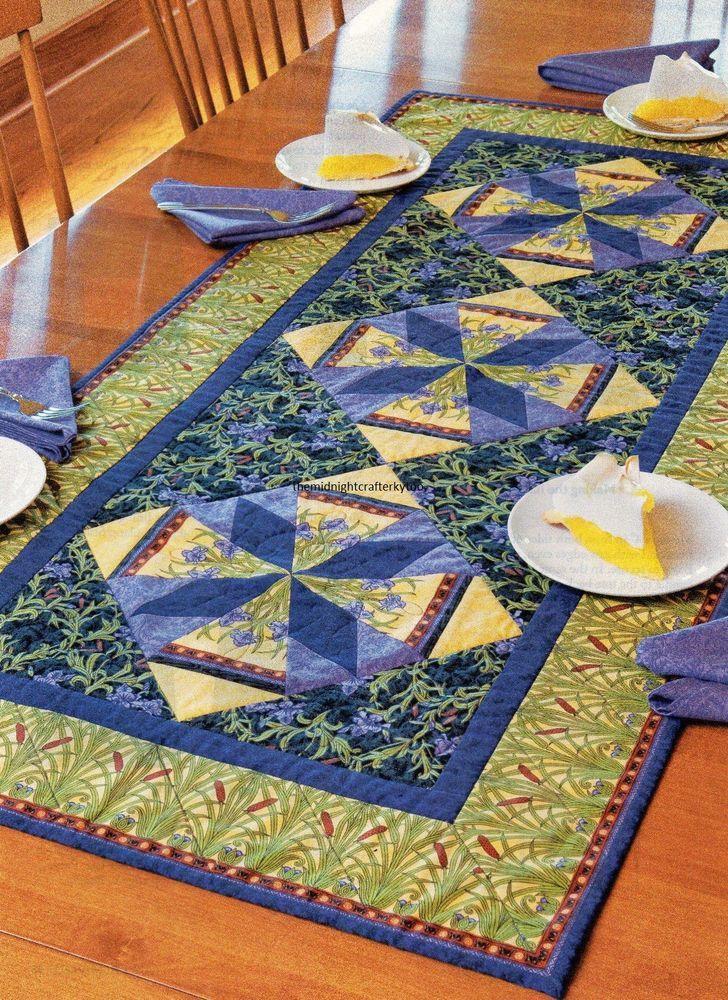 Harvest Table Runner Quilt Pattern Pieced//Applique CM