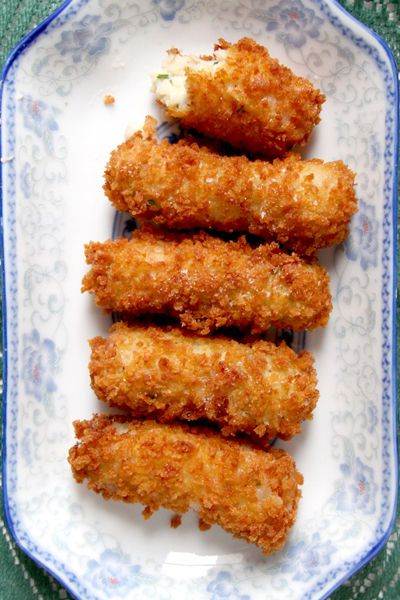 Virginia Ham and White Cheddar Croquettes   Fried Ham and Cheese Appetizer