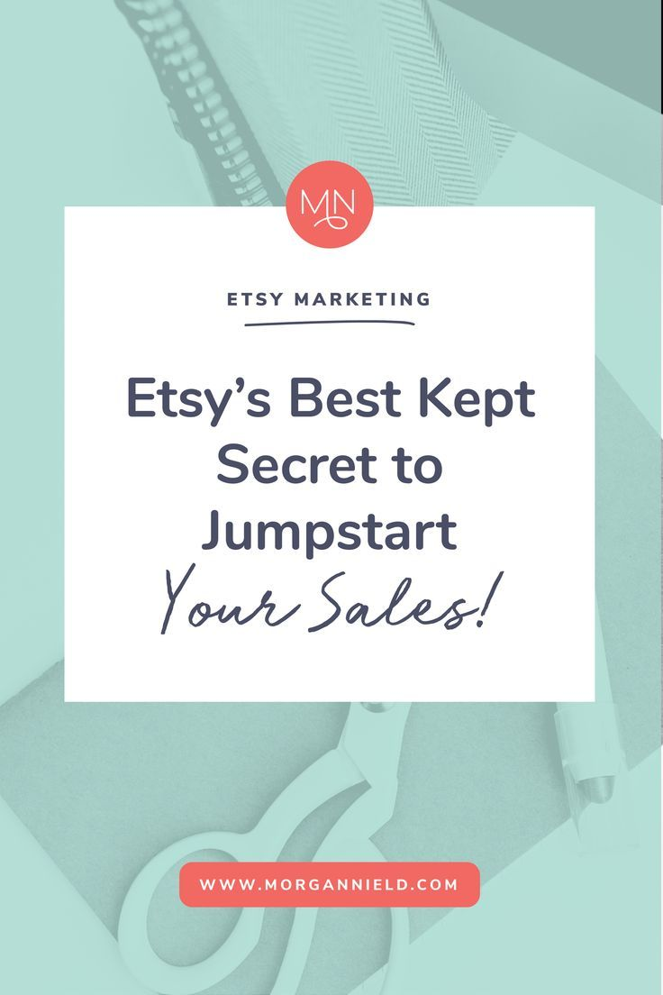 how to create an etsy sale
