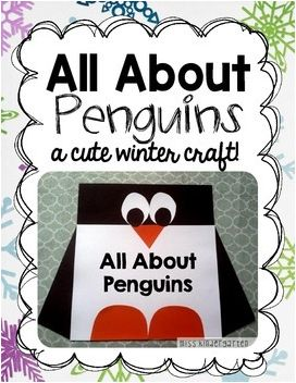 Miss Kindergarten: All About Penguins! {craft and writing freebie}