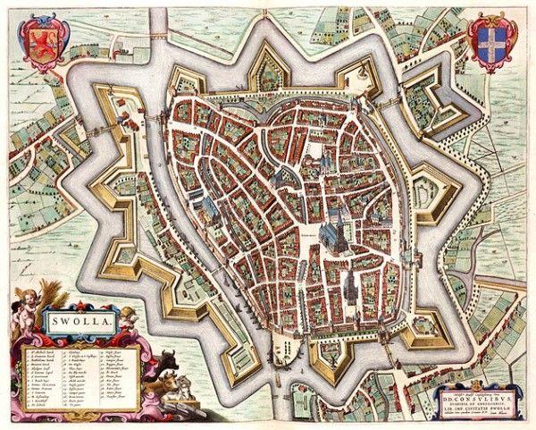 Zwolle 1649 Blaeu