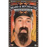 "6"" Biker Beard & Moustache Black (70582)"