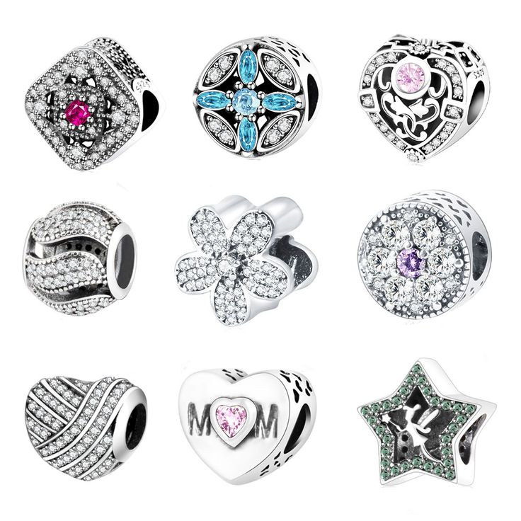 Pandora Charm Bracelet 100% 925 Sterling Silver Beautiful Bead Charm //Price: $19.99 & FREE Shipping //     #hashtag3