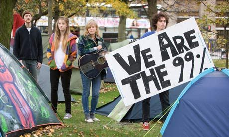 The Occupy Fiasco: The math behind the movement.