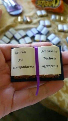 Biblias de chocolate - Recuerdos de Bautizo