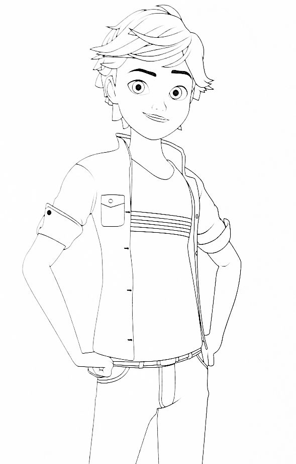Miraculous Ladybug New Coloring Pages Adrien Ladybug Girly Drawings Coloring Pages