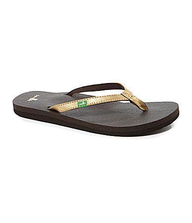 4b3d40bd41a Sanuk Womens Yoga Joy Flip Flop Sandals  Dillards