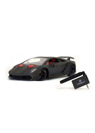 Lamborghini Télécommandé par smartphone.  http://www.phonewear.fr/9453-thickbox/voiture-telecommande-modelco-lamborghini-pilote-pour-smartphone.jpg 34,90€