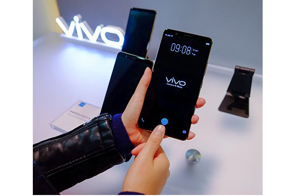 CES 2018: Vivo shows off world's first in-display fingerprint scanning smartphone - Availability #AR #Gadgets #MR #Smartwatches #VR #Wearables  #MyGadgetsEden