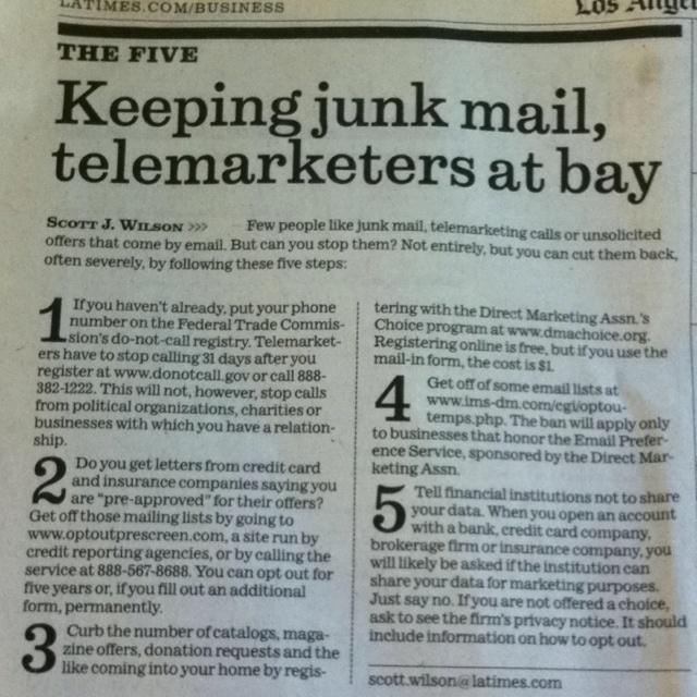 Spam mailing list pranks