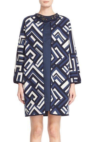 Max Mara 'Giralda' Jacquard Knit Jacket available at #Nordstrom