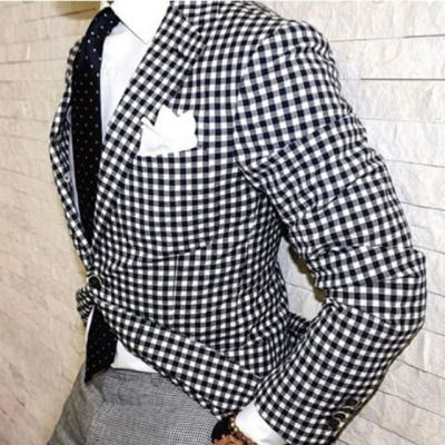 things to match with checkered pattern