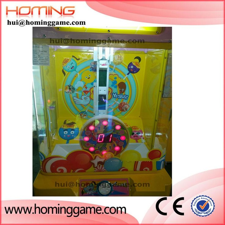 Coin operated prize vending toys candy crane claw machine  hui@hominggame.com Type:Small candy prize vending machine,Small crane game machine,candy machine for children,Standard export packing ,prize vending machine,vending machine,game machine,coin operated game machine,arcade game machine
