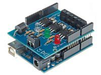 Velleman KA01: RGB Shield for Arduino  Control 3 dimmer channels (1 x RGB or 3 single channels) with Arduino UNO™  Also available as completely mounted module VMA01