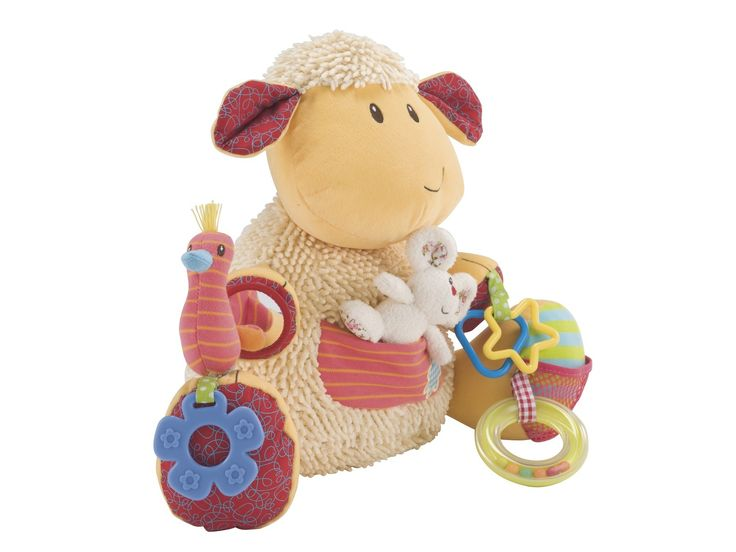 ELC Blossom Farm Woolly Lamb Activity Toy - ELC - Toys, Bouncers, Trikes | The One Stop Baby Shop | Baby Bunting