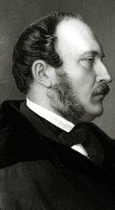 Prince Albert (1819-1861) profile in black by Artist Unknown. Why did he die? Helen Rappaport disputes typhoid fever. Her evidence suggests Crohn's disease. It supports Victoria's belief that Albert had been killed by worry about their 1st sons reckless lifestyle. Crohn's fit Albert's stomach troubles, his exhaustion & leads to bowel cancer. 2nd son of Ernest I (1784-1844) Duke of Saxe-Coburg & Gotha & wife Louise (1800-1831) of Saxe-Gotha-Altenburg & husband of Queen Victoria (1819-1901)…